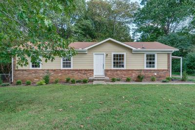 Dickson Single Family Home For Sale: 1523 W Grab Creek Rd