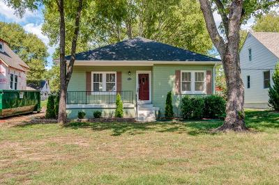Nashville Single Family Home Under Contract - Not Showing: 242 Antioch Pike