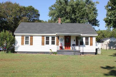 Marshall County Single Family Home Under Contract - Showing: 930 Barron Rd