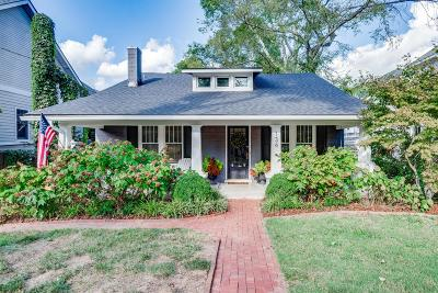Nashville Single Family Home For Sale: 134 Woodmont Blvd