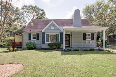 East Nashville Single Family Home For Sale: 912 Burchwood Ave