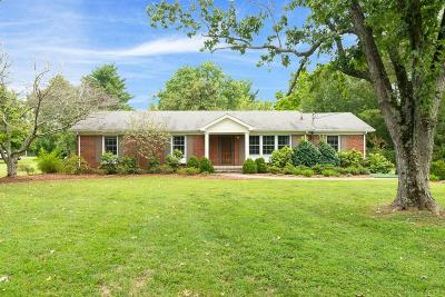 Franklin Single Family Home Under Contract - Showing: 1999 Berrys Chapel Rd
