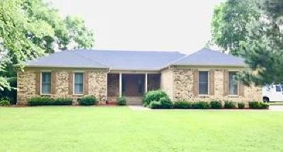 Springfield Single Family Home Under Contract - Not Showing: 2102 Bracey Dr