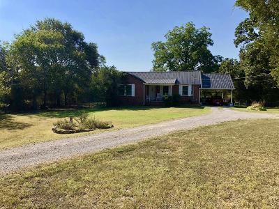 Rutherford County Single Family Home For Sale: 6544 Woodbury Pike