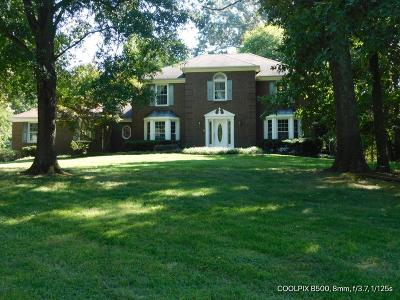 Clarksville Single Family Home For Sale: 809 Windermere Dr