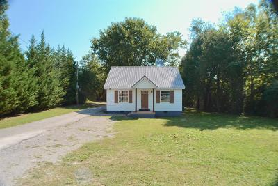Smithville TN Single Family Home For Sale: $104,900
