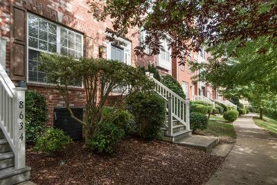 Nashville TN Condo/Townhouse For Sale: $269,500