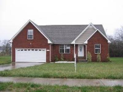 Clarksville Single Family Home Under Contract - Showing: 790 Fire Break Dr