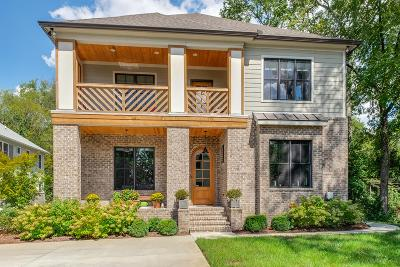 Davidson County Single Family Home For Sale: 4004 B Woodmont Blvd