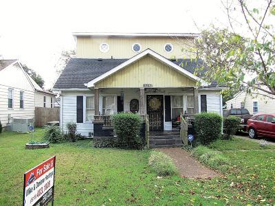 Nashville Single Family Home For Sale: 4907 Illinois Ave