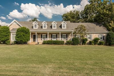 Hendersonville Single Family Home For Sale: 212 The Hollows Ct