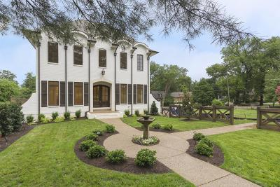 Nashville Single Family Home For Sale: 199 Bowling Ave