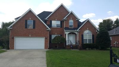 Smyrna Single Family Home For Sale: 8003 Moet Ct