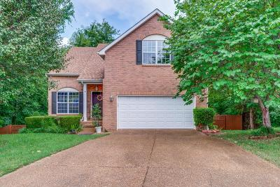 Mt. Juliet Single Family Home Under Contract - Showing: 3606 Sussex Ct