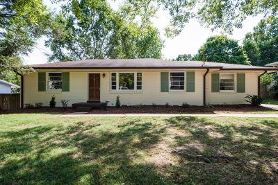 Nashville Single Family Home For Sale: 219 Garrett Dr