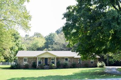 Gallatin Single Family Home For Sale: 1904 Scotty Parker Rd