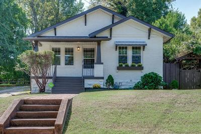 Nashville Single Family Home For Sale: 1302 Stratford Ave