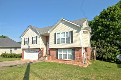 Clarksville TN Single Family Home For Sale: $189,900