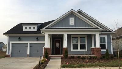 Hendersonville Single Family Home For Sale: 107 Misty Way #309