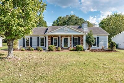 Franklin Single Family Home Under Contract - Showing: 534 Riverview Dr
