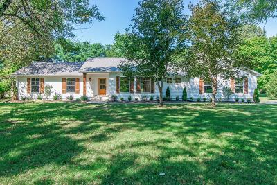 Brentwood  Single Family Home Under Contract - Showing: 1417 Knox Valley Dr