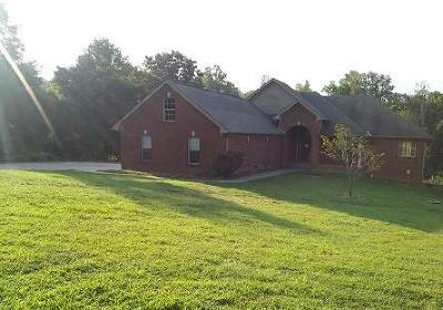 Clarksville Single Family Home Under Contract - Not Showing: 723 Cloud Dr