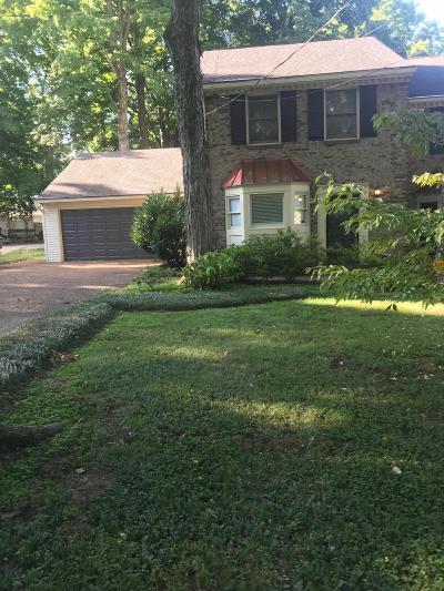 Davidson County Single Family Home For Sale: 1005 Glendale Ln