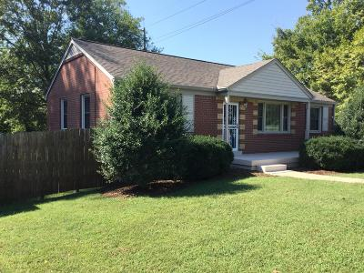 Davidson County Single Family Home For Sale: 600 Broadmoor Dr