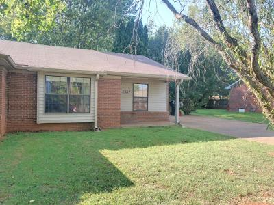 Rutherford County Single Family Home For Sale: 2587 Oak Hill Dr