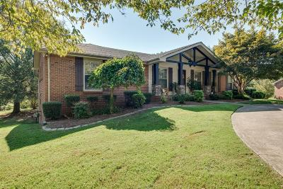Clarksville Single Family Home Under Contract - Not Showing: 415 Rivermont Dr