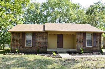 Clarksville Single Family Home For Sale: 3485 Arvin Dr