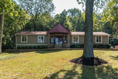 Hendersonville Single Family Home For Sale: 110 Diddle Dr