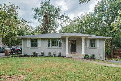 Davidson County Single Family Home For Sale: 563 Whispering Hills