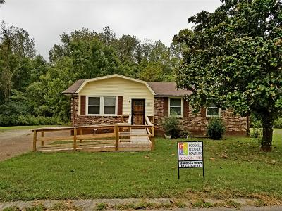 Davidson County Single Family Home For Sale: 3855 Crouch Dr
