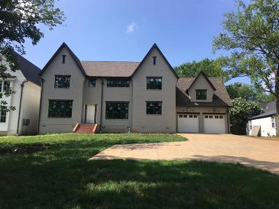 Green Hills Single Family Home For Sale: 1919 Castleman Dr.