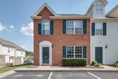 Antioch  Condo/Townhouse For Sale: 5170 Hickory Hollow Pkwy #162 #162