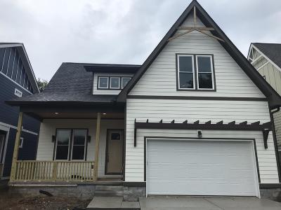 Nashville TN Single Family Home For Sale: $545,000