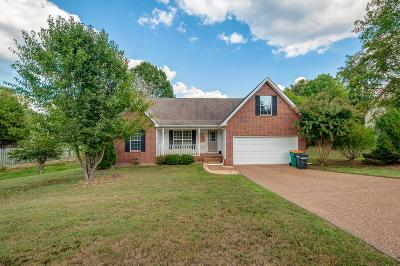 Spring Hill  Single Family Home For Sale: 2838 Candlewicke Dr