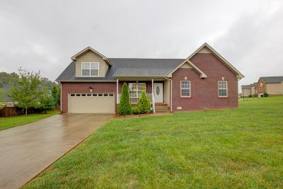 Clarksville Single Family Home Under Contract - Not Showing: 3195 Cross Ridge Dr