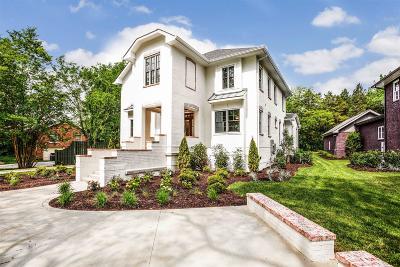 Nashville  Single Family Home For Sale: 4603 Granny White Pike