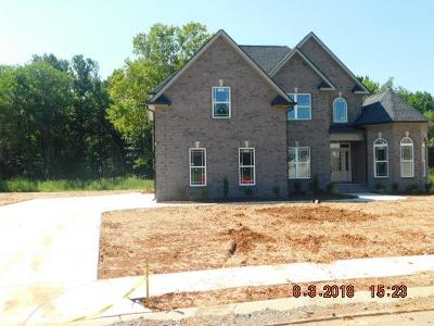 Christiana Single Family Home For Sale: 1608 Ansley Kay Dr