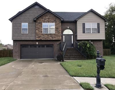 Clarksville Single Family Home For Sale: 3701 Windmill