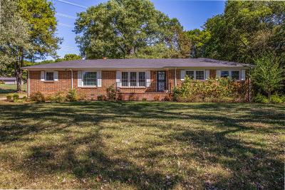Columbia Single Family Home For Sale: 2173 Double Branch Rd