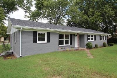 Gallatin Single Family Home Under Contract - Showing: 101 Bate Ave