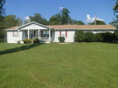 Shelbyville Single Family Home For Sale: 1001 Hwy 82 S