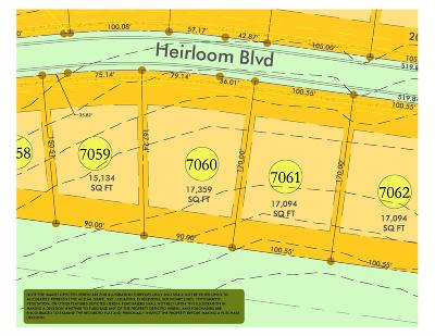 College Grove Residential Lots & Land For Sale: 8532 Heirloom Blvd (Lot 7060)