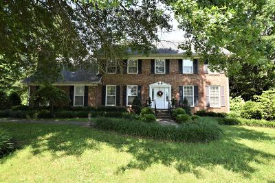 Clarksville Single Family Home Under Contract - Not Showing: 524 Hay Market Rd