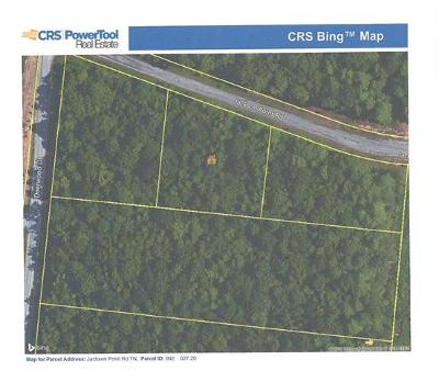 Sewanee Residential Lots & Land For Sale: 20 Jackson Point Rd