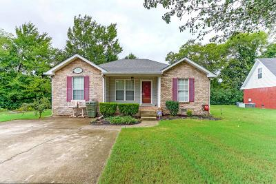 Lebanon Single Family Home Under Contract - Showing: 809 Spring Meadow Ln