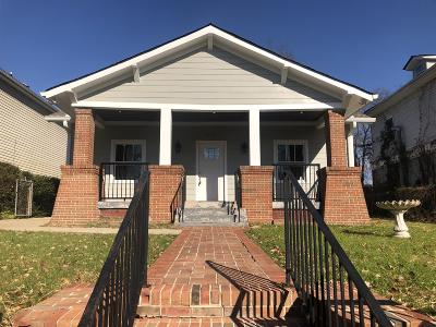 Single Family Home For Sale: 903 Chicamauga Ave
